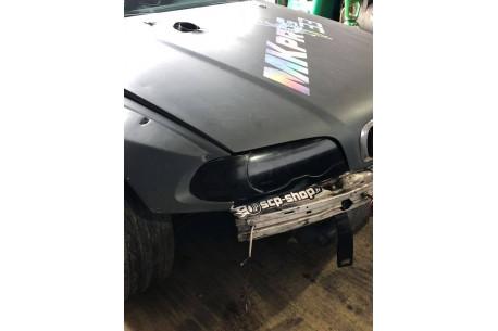 Caches phares Fibre pour BMW E46 phase 1