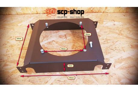 Support de ventilateur spal ou radiateur d'huile