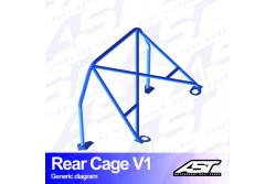 Arceau arrière 4 points pour E30 Série 3 Coupé 4 roues motrices