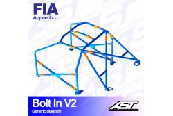 Arceau complet démontable 6 points pour Fiesta Mk2FBD
