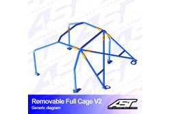 Arceau complet démontable 6 points pour CRX EF/ED/EECoupé