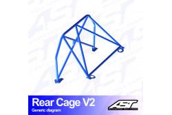 Arceau arrière 4 points pour RX-7 FDCoupé