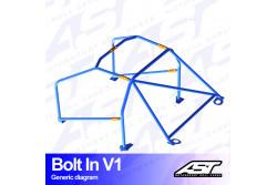 Arceau complet démontable 6 points pour SILVIA S14Coupé
