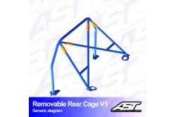 Arceau arrière démontable 4 points pour Celica T230Coupé