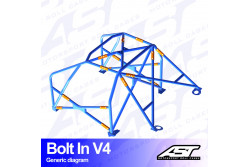 Arceau complet démontable 6 points pour Celica T230Coupé