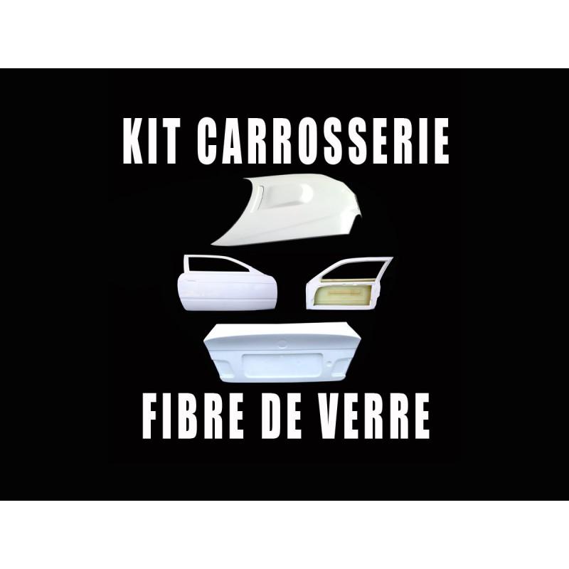 kit carrosserie fibre bmw e46 capot 2 portes coffre csl. Black Bedroom Furniture Sets. Home Design Ideas