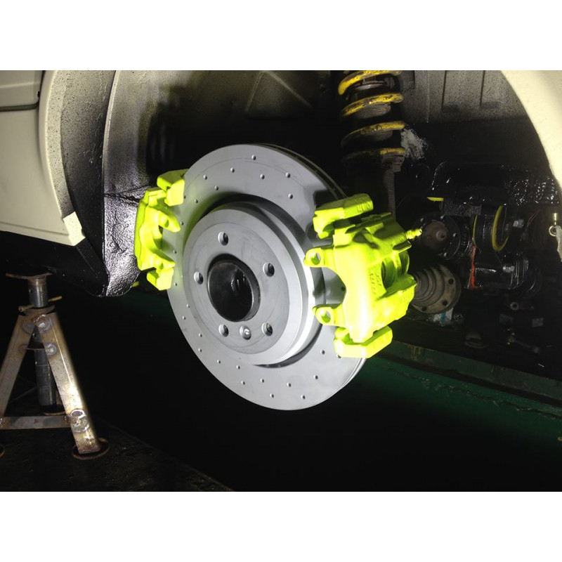 Installation du frein à main hydraulique e36