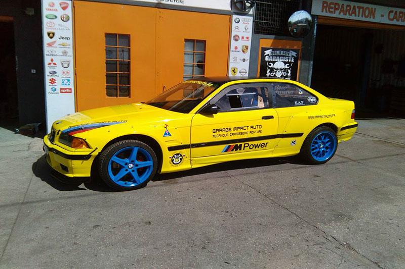 La BMW E36 Rocket Bunny d'IMPACT AUTO (13) - SCP Shop Le Blog