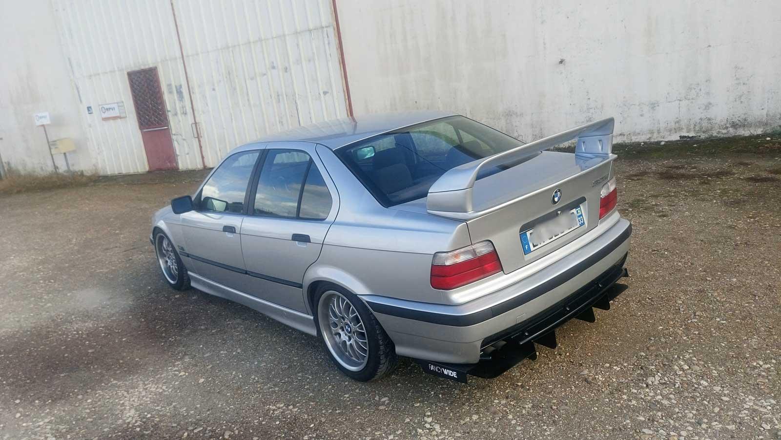 barres anti rapprochement BMW E36