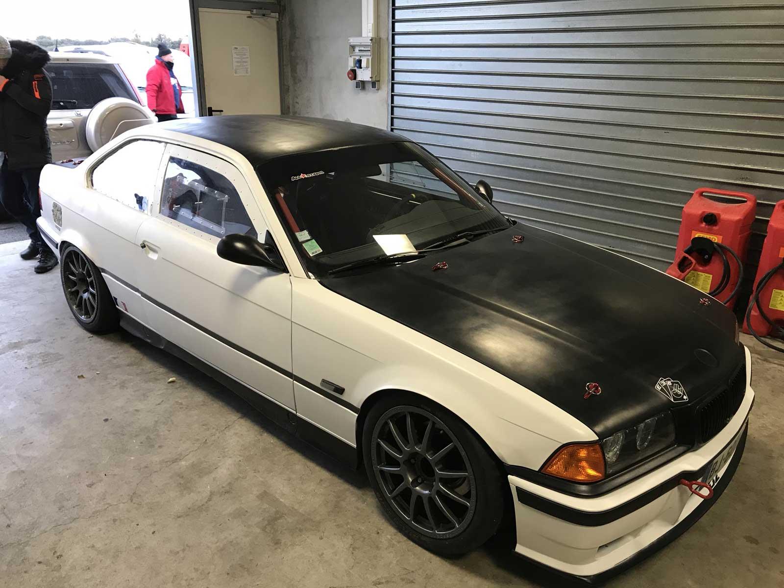 Pièces carrosserie fibre BMW E36